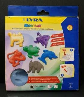 Cetakan Platisin Lyra Modello Silicone Mould