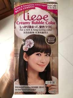 Liese 泡泡染髮劑 栗子啡色