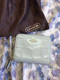 Repriced!!  Coach Small Zip Around Wallet