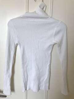 清屋-白色打底衫
