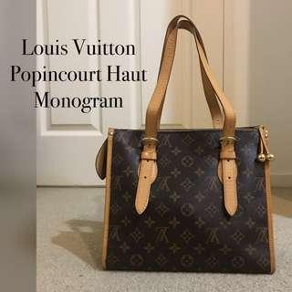 LOUIS VUITTON LV Popincourt Haut Monogram Hand Shoulder Bag