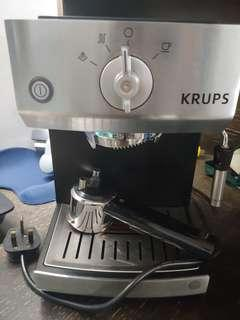 Krups espresso coffee machine