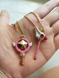 Cardcaptor sakura keychains