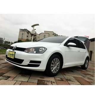 2014年GOLF TSI 1.2粉專:魯邦車業,想買車皆可幫忙全額貸+增額貸第三方配合認證