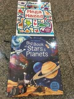BNIP usborne big book of stars and planets