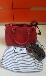 PL Anya Hindmarch Red Tote Sling bag