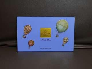 GODIVA box (empty 吉盒)