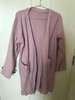 清屋-粉紅色厚外套