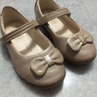 Clark's little girl shoes 12-18 months