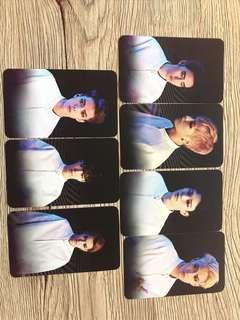 EXO Set of 7 Double Sided Photocards