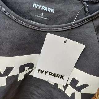 IVY PARK Crop Top Swimwear Sportswear Size S BNWT