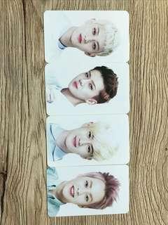 EXO Double Sided Photocards Set of 4