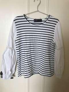 清屋-黑白條紋衫