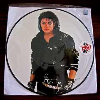 "Michael Jackson - BAD 25th Anniversary Picture Disc 12"" Vinyl LP 2012"
