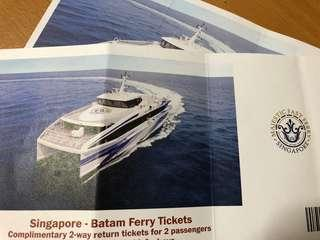 Four 2-way Batam Majestic Fast Ferry
