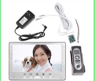 (E550) 7 Inch Video Door Phone 815M11 One To One Video Door Bell Intercom In Access Control System