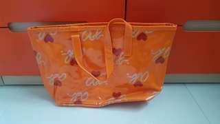 PL Agnes B Orange Shoulder Bag