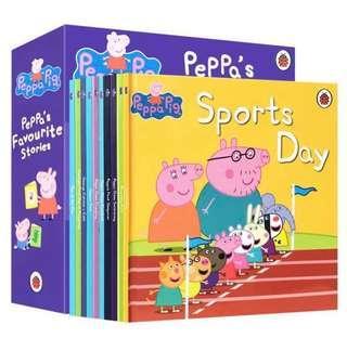 🚚 BN 10 books- Peppa Stories