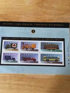 CANADA懷舊車郵票