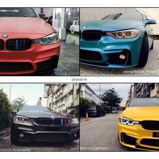 BMW M3 Front Bumper Body kit For F30 3series