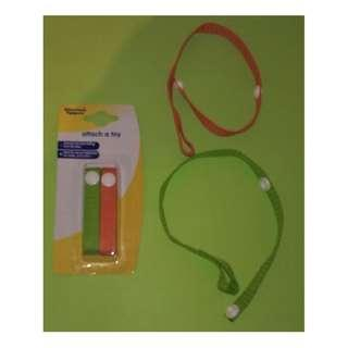 Tommee Tippee - Attach a Toy straps