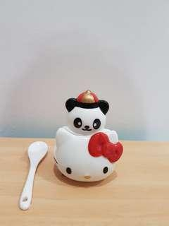 Original Hello Kitty Panda Ceramic Condiment Set