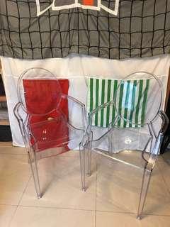 時尚品味透明餐椅(與designer chair同款) (95%新)