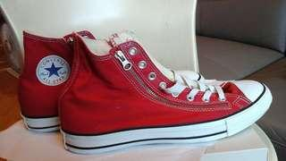 Converse all star red men size 9.5 eur 43