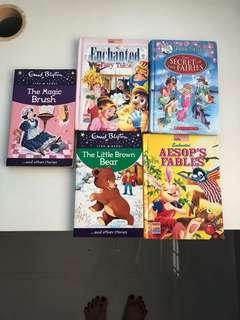 *** Clearance *** story books 5 for $5.00