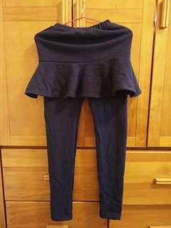 🚚 韓國內刷毛連裙內搭褲