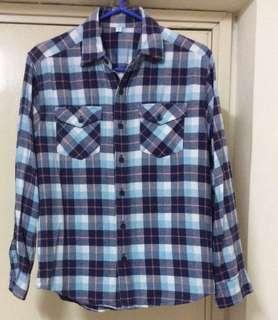 UNIQLO 格仔恤衫Size:150