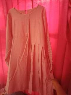Dress atasan Tunik pink