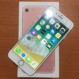 Iphone 7 128gb Rosegold Fullset Mulus Bisa Tt