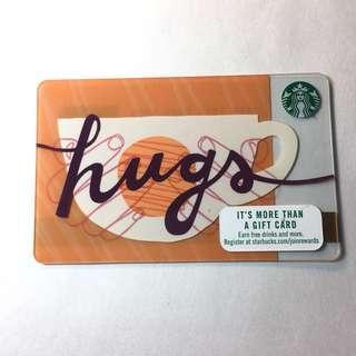 原$40 美國代購Starbucks Card 星巴克卡