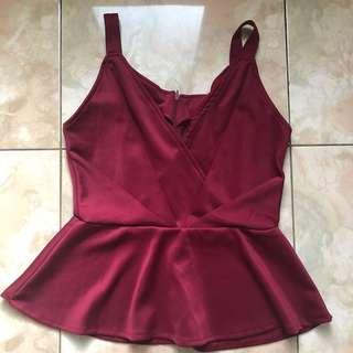 red v top