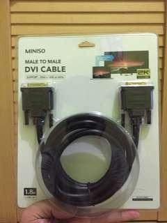 Miniso DVI Cable