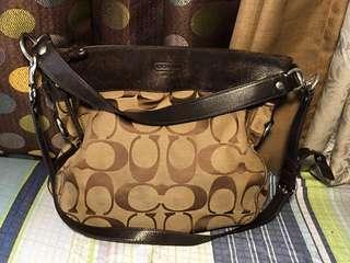 Authentic Coach shoulder/messenger bag