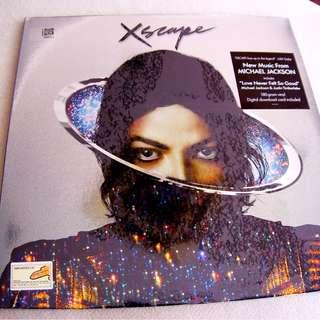 MICHEAL JACKSON - Xscape Escape Vinyl LP Album NEW/ SEALED