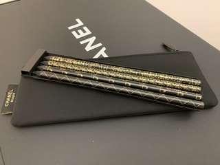 CHANEL pencil set of 4 鉛筆一套四支