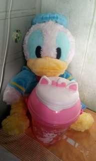 Bundle Donald duck with marie popcorn bucket