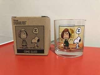 [Made in Japan] Gelas Peanuts Snoopy Rock Glass