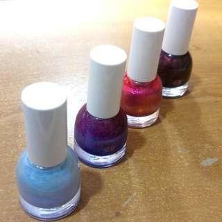H&M Nail Color 指甲油 x4