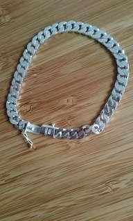 925Silver bracelet/925銀行鍊