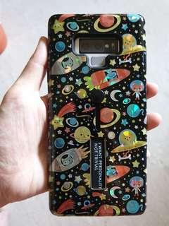 Samsung Note 9 Space Cat Protective Cover