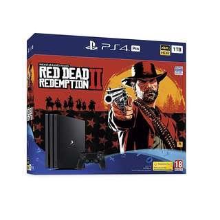 PS4 PRO 1TB RED DEAD REDEMPTION 2 BUNDLE SET[PRE ORDER 3/11/2018]