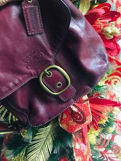 Authentic Coach Leather Hobo Bleecker Flap Bag Authentic Leather Bought from US in good condition
