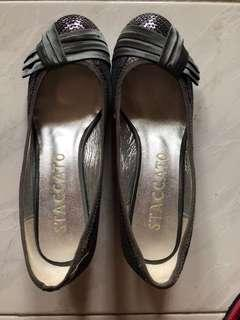 Staccato Sequins low heel shoes