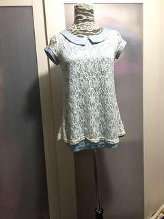 Lace top, no bargaining
