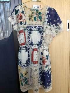 (包郵)日本連身裙