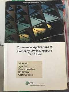 Commercial Applications of Company Law in Singapore (4th Edition)